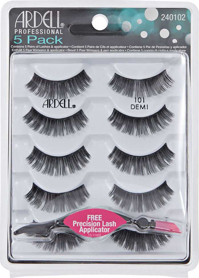 Ardell - 101 Demi Black Natural Multipack Lashes