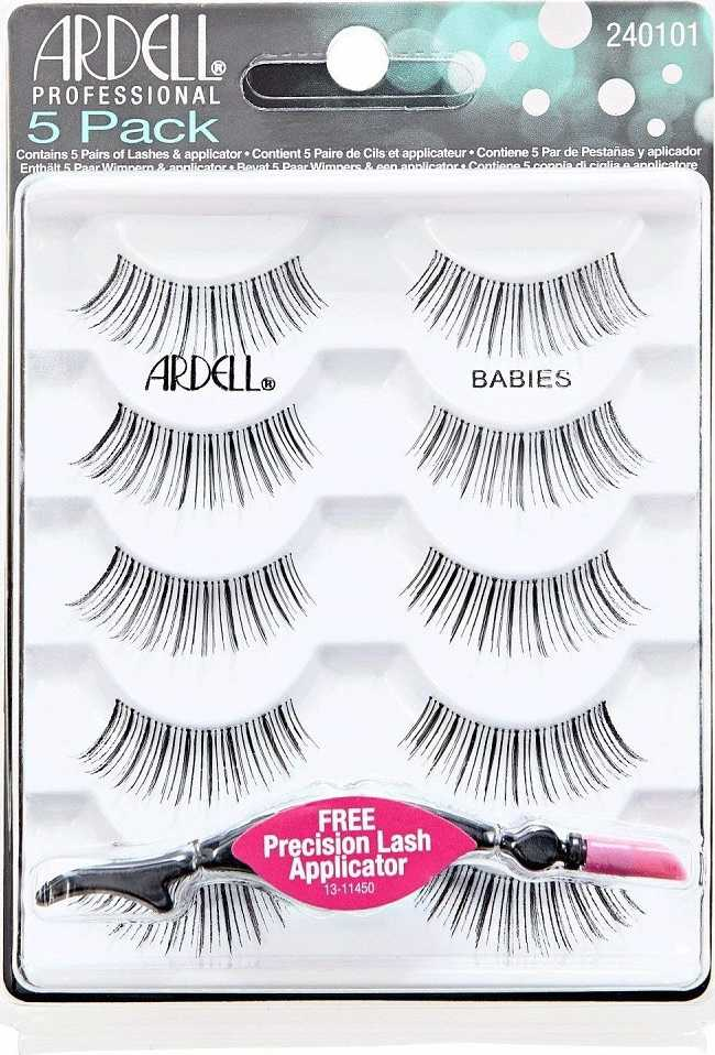Ardell - 101 Babies Black Natural Multipack Lashes