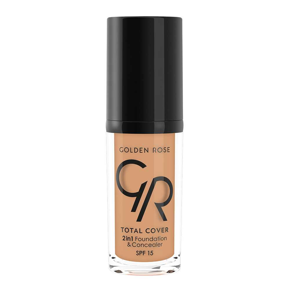 TOTAL COVER 2 in 1  SPF15 11. NUDE. Golden Rose