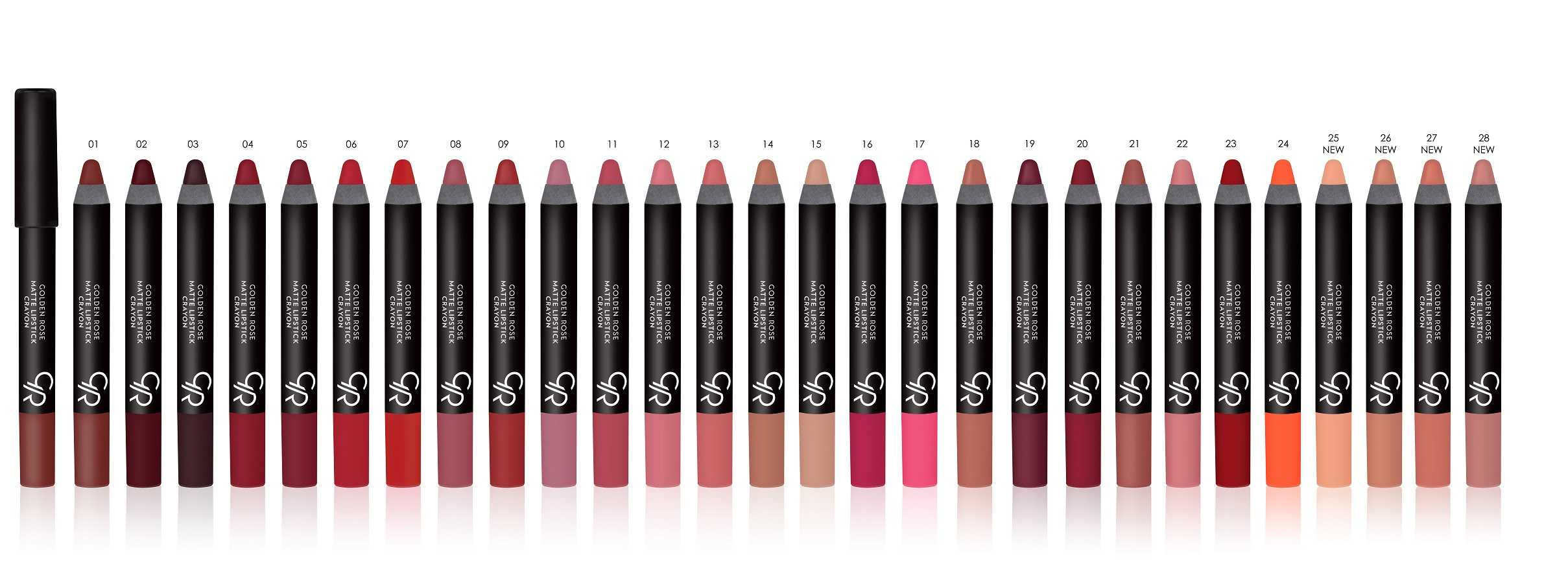 Coco Make It Yours Matte Lipstick Crayon 01. Golden Rose