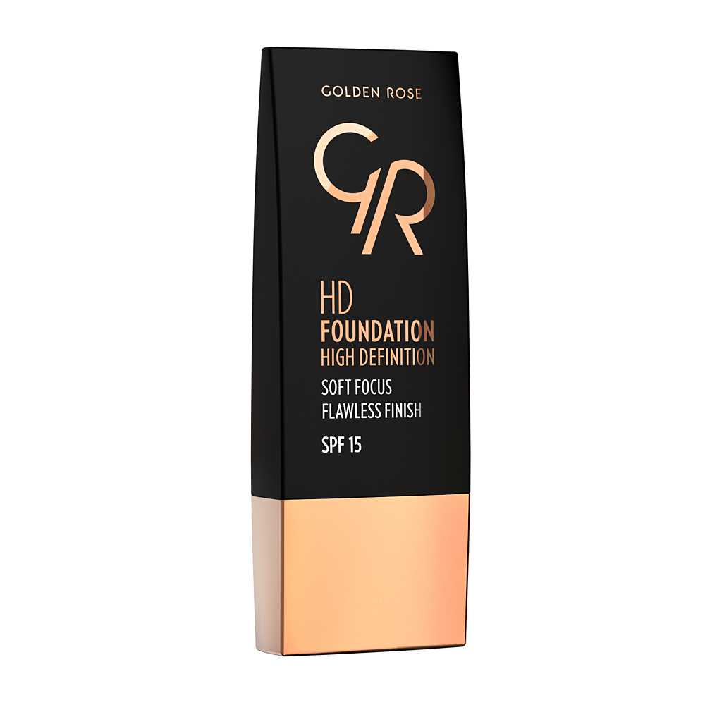 HD Foundation Nude 109. Golden Rose