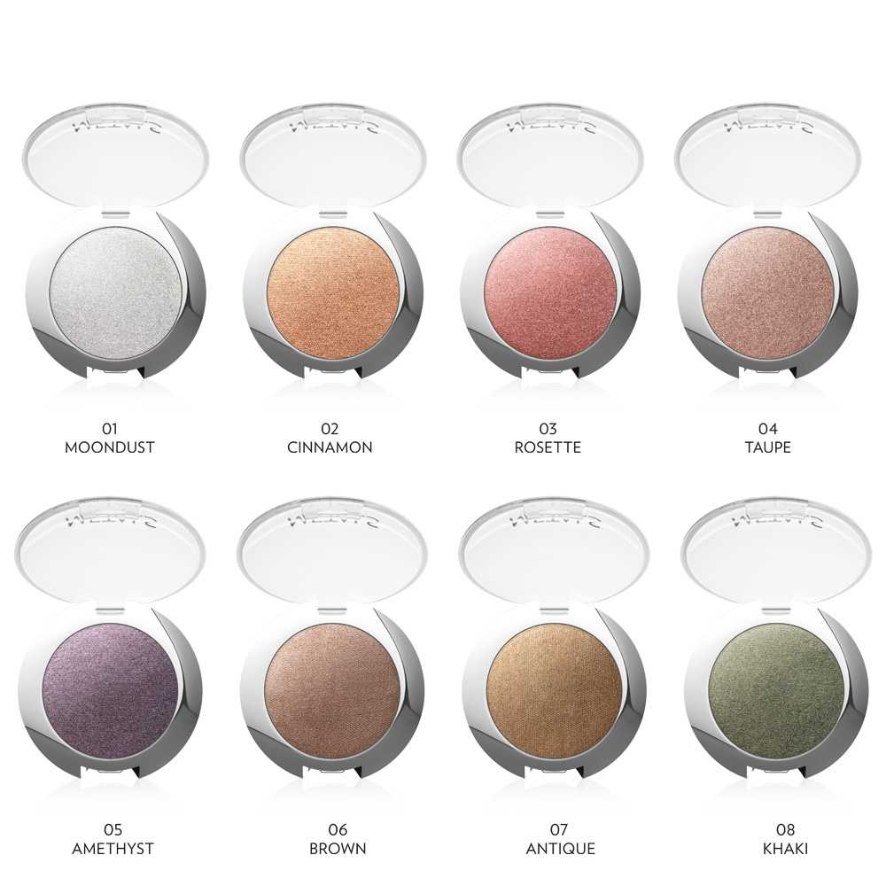 Coco Make It Yours Metal Eyeshadow 04 Taupe. Golden Rose