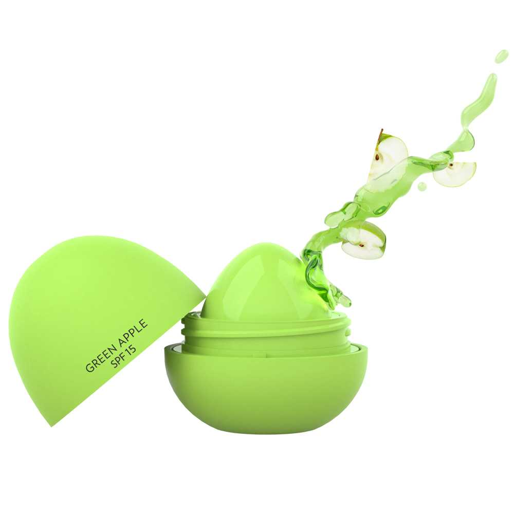 Coco Make It Yours Lip Butter - Green Apple.Golden Rose