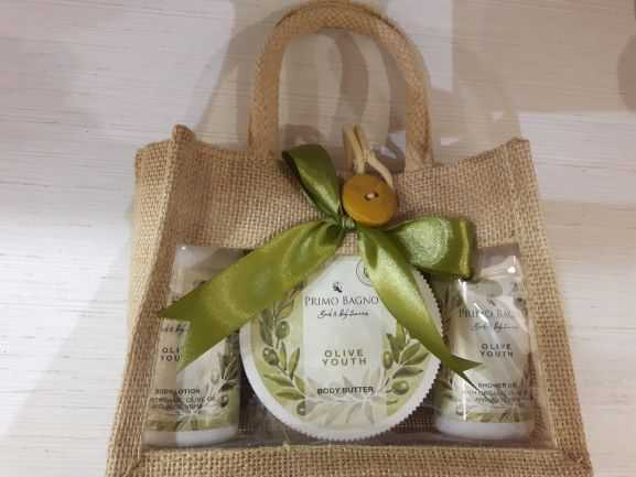 Primo Bagno - Bath & Body Gift Bag Olive Youth